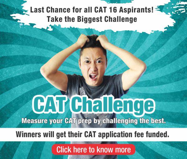 CAT Challenge October window