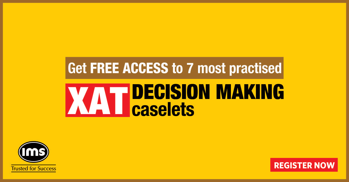 XAT DM-A one-of-a-kind book with 26 sets of decision making
