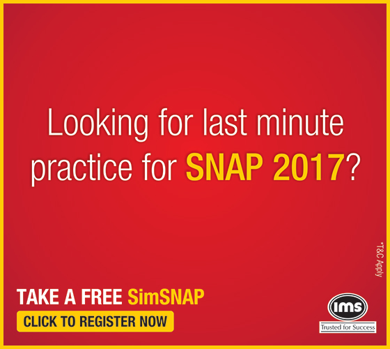 SNAP Mock Test for Free